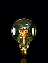E27 25W G95 Bulb Edison Incandescent Light Bulbs Pearl