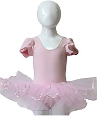 Puffy Sleeve Leotard Tutu for Ladies and Girls