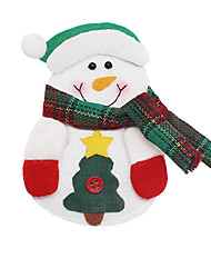 Christmas Toys Gift Bags Holiday Supplies 3 Christmas Textile White Yellow Red