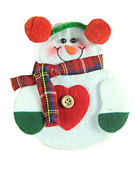 Christmas Decorations / Christmas Party Supplies / Gift Bags Holiday Supplies Snowman Textile White Above 3