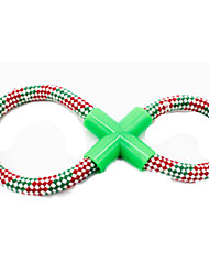 Dog Toy Pet Toys Interactive Foldable Red Green Plastic
