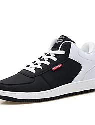 Femme-Décontracté-Noir / Bleu / GrisConfort-Sneakers-Synthétique