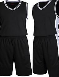 menns korte ermer basketball kjører genser topper baggy shorts pustende svettetransporterende komfortabel hvit svart hvit blackl xl xxl