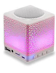 UIS-X5 Water Cube Portable Wireless Bluetooth 3.0 Speaker 2.0 channelPortable / Outdoor / Bult-in mic / Support Memory card / Support FM Radio