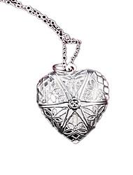Женский Медальоны Ожерелья Серебрянное покрытие Мода Серебряный Бижутерия Для вечеринок Повседневные 1шт