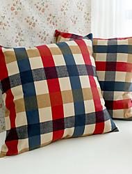 1 pcs Cotton Pillow Case,Floral / Plaid Modern/Contemporary / Casual