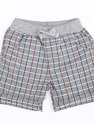 Boy Casual/Daily Solid Shorts-Cotton Summer
