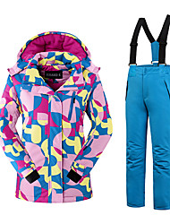 Ski Wear Clothing Sets/Suits Women's Winter Wear Polyester Fashion Winter Clothing Thermal / Warm Comfortable SnowsportsFall/Autumn