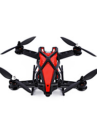 Drone RC LY-250 4CH 3 Eixos 2.4G - Quadcóptero RC Quadcóptero RC Controle Remoto Manual Do Usuário Carregador De Bateria Vermelho