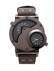 Men's sports watch Double movement fashion personality hot style in Europe and America sports watch