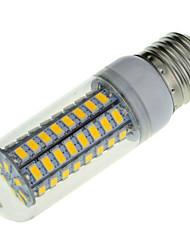 18W E14 / E26/E27 Ampoules Maïs LED B 72 SMD 5730 1650 lm Blanc Chaud / Blanc Froid Décorative AC 100-240 V 5 pièces