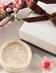 presentes de Natal mini-cereja forma flor de sabonete (cor aleatória)