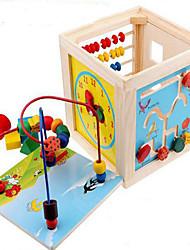 Alivia Estresse Blocos de Construir Brinquedo Educativo para presente Blocos de Construir Hobbies de Lazer Quadrangular Madeira2 a 4 Anos