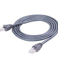 cabo de rede cabo Choseal de alta velocidade ultra-cinco rede com a rede cabeça de cristal jumper de 1 metros