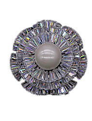 mulheres de liga leve jóias broches brancos 1ps
