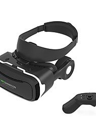 Shinecon VR 4.0 Virtual Reality 3D Glasses Headset for Mobile Smartphone with Gamepad