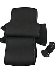 ziqiao schwarzes echtes Leder-Lenkrad-Abdeckung für Nissan Qashqai X-Trail NV200 Schelm