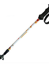 3 Walking Poles Trekking Poles Nordic Walking Poles Hiking pole 1 piece 125cm (49 Inches) Fastness Durable Light Weight Collapsible