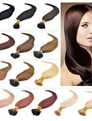 venda quente i ponta extenisons cabelo 16-24 100s polegadas / lot cabelo ponta grossa extensão do cabelo brasileiro queratina do cabelo