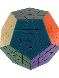 Toys Smooth Speed Cube Megaminx Novelty Stress Relievers Magic Cube Rainbow Plastic
