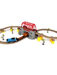 Трек вагоностроительный Необычные игрушки Шлейф Оригинальные Радужный Пластик День детей
