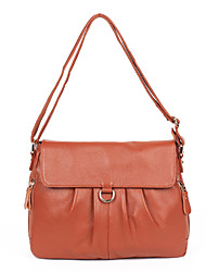 Women Cowhide Formal / Sports / Casual / Event/Party / Wedding / Outdoor / Office & Career / Professioanl Use Shoulder Bag