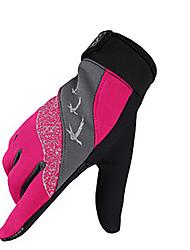 Перчатки Спортивные перчатки Все Перчатки для велосипедистов Весна Осень Зима ВелоперчаткиДышащий Ударопрочность Пригодно для носки