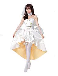 Love Live Kotori Minami Cosplay Costumes Solid Dress / Headwear / Bracelet / Choker
