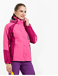 Femme Anorak pour Ski/snowboard Veste Coquille souple Ski Camping / Randonnée Sport de détente Sports de neige Ski alpinEtanche