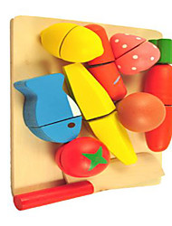 Tue so als ob du spielst Neuartige Quadratisch Holz Regenbogen Für Jungen Für Mädchen