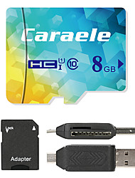Caraele 8GB Micro SD card Class 10 80 OtherMultiple in one card reader Micro sd card reader SD card reader CF card reader Memory stick reader