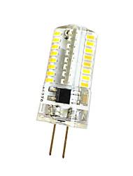 5W G4 Lichtdekoration T 64 SMD 3014 380 lm Warmes Weiß Kühles Weiß Dimmbar AC220 V 1 Stück