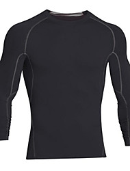 Running Tops Unisex Long Sleeve Breathable / Quick Dry / Comfortable LYCRA®Exercise & Fitness / Racing / Basketball / Football/Soccer /