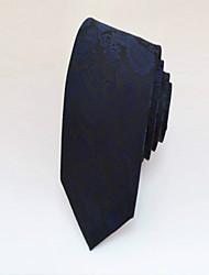 Gravata ( Azul Escuro , Poliéster ) Estampado