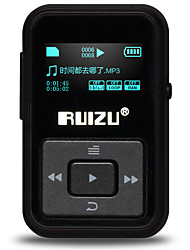 RUIZU MP3 MP3 WMA WAV FLAC APE Bateria Li-on Recarregável