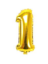 Ballons Urlaubszubehör Zylinderförmig Aluminium Gold Für Jungen Für Mädchen 5 bis 7 Jahre