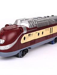 Track Rail Car Chic & Modern Novelty Toy Train Novelty Dark Red Plastic Children's Day