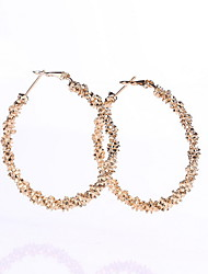 / Hoop Earrings Jewelry Women Daily Casual Alloy 1 pair As Per Picture