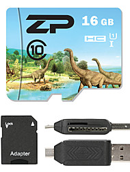 ZP 16Go TF carte Micro SD Card carte mémoire UHS-I U1 Class10