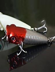 """1 pcs Isco Duro Iscas Isco Duro Cores Sortidas 4 g/1/6 5/8 Onça mm/2-1/8"""" polegada,Plástico Duro Isco de Arremesso Pesca Geral"""