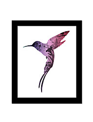 Unframed Canvas Print Abstract Modern / European Style Bird Pattern Wall Decor For Home Decoration