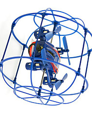 RC 2.4G 1:12 RC Airplane 50KM/H Blue Ready-to-go RC Quadcopter