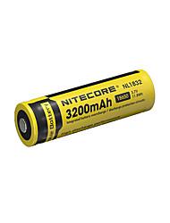 nitecore nl1832 3200mah 3.7v 11.8wh 18650 литий-ионная аккумуляторная батарея
