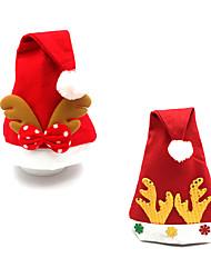 Artigos para Celebrar o Natal Brinquedos de Natal Decoração Para Festas 2 Natal Tecido Vermelho