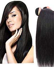 Malaysian Virgin Straight Hair Weaving Natural Black 8-30 inch 1pc/Lot 100G Per Bundle Raw Unprocessed Hair Weft