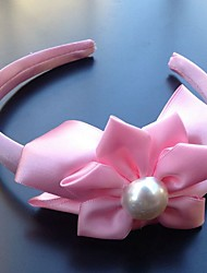 Women's Imitation Pearl Fabric Plastic Headpiece-Wedding Special Occasion Headbands Flowers 1 Piece