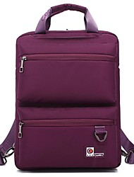 14.6 Inch Nylon Laptop Backpack Day Pack Leisure Satchel With Functional Pockets for Business CB-3668