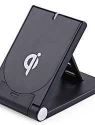 Qi Standard Wireless Charging Foldable Stand Desktop Charger for Samsung Galaxy S7  S7 edge S6 S6 edge Note5 and All Qi-enabled Devices