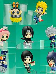 Naruto Tayuya 8 Figuras de Ação Anime modelo Brinquedos boneca Toy