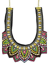 Women's Pendant Necklaces Alloy Jewelry Basic Fashion Orange Green Jewelry Casual 1pc